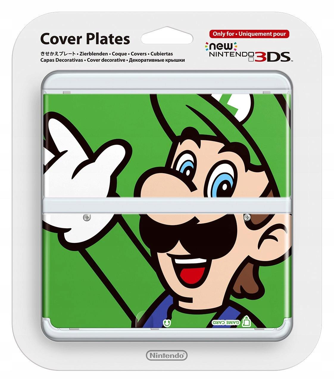 Купить 6558. COVER PLATE NEW NINTENDO 3DS ЛУИДЖИ на Otpravka - цены и фото - доставка из Польши и стран Европы в Украину.