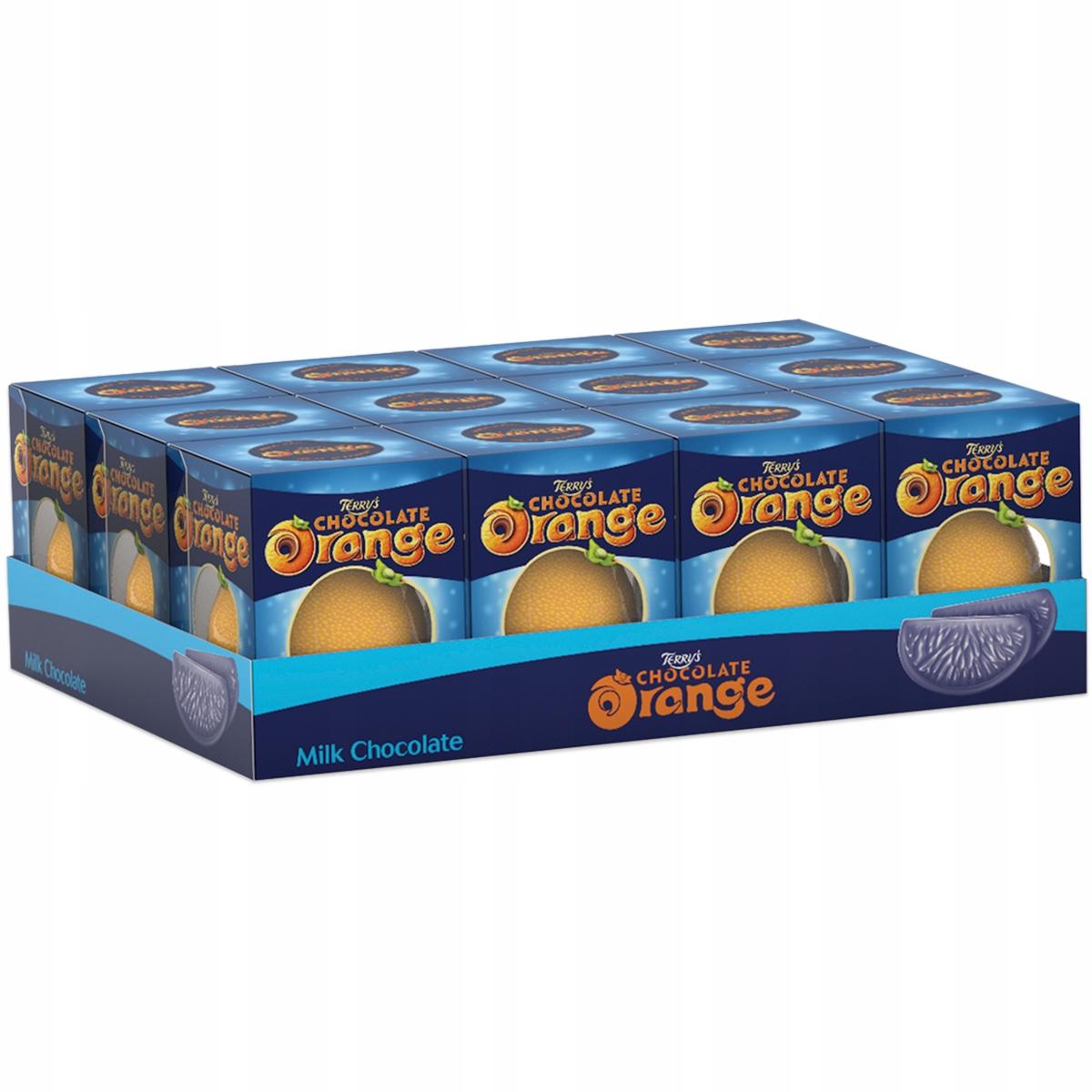Terry's Čokoláda Orange Čokoláda 12 x 157g UK