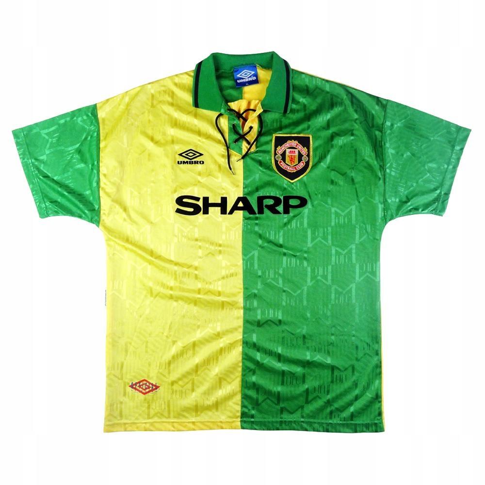 T-tričko MANCHESTER UNITED 1992/1994 - RETRO-rok. XL