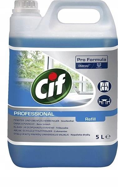 Средство для мытья стекол, Cif, Diversey,5Л
