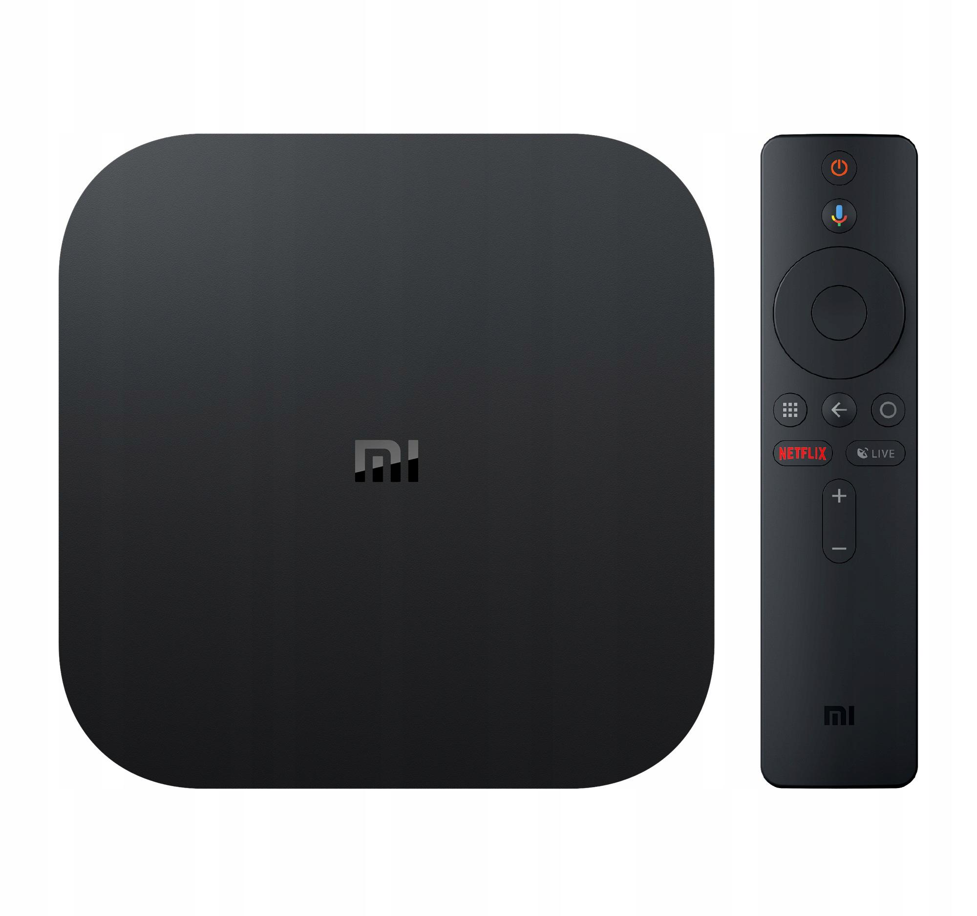 XIAOMI MI BOX S ANDRTOD TV OS HBO GO - NETFLIX 4K