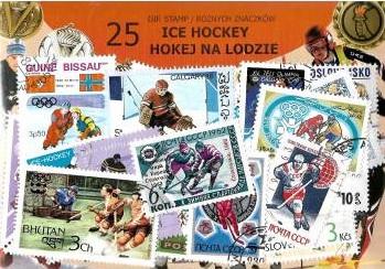 Купить Набор из 25 почтовых марок - ХОККЕЙ НА ЛЬДУ на Otpravka - цены и фото - доставка из Польши и стран Европы в Украину.