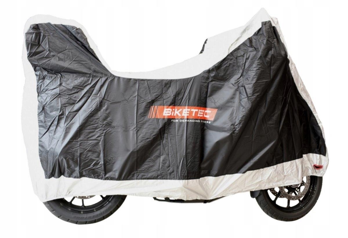 Чехол на мотоцикл с ларцом BIKETEC AQUATEC М