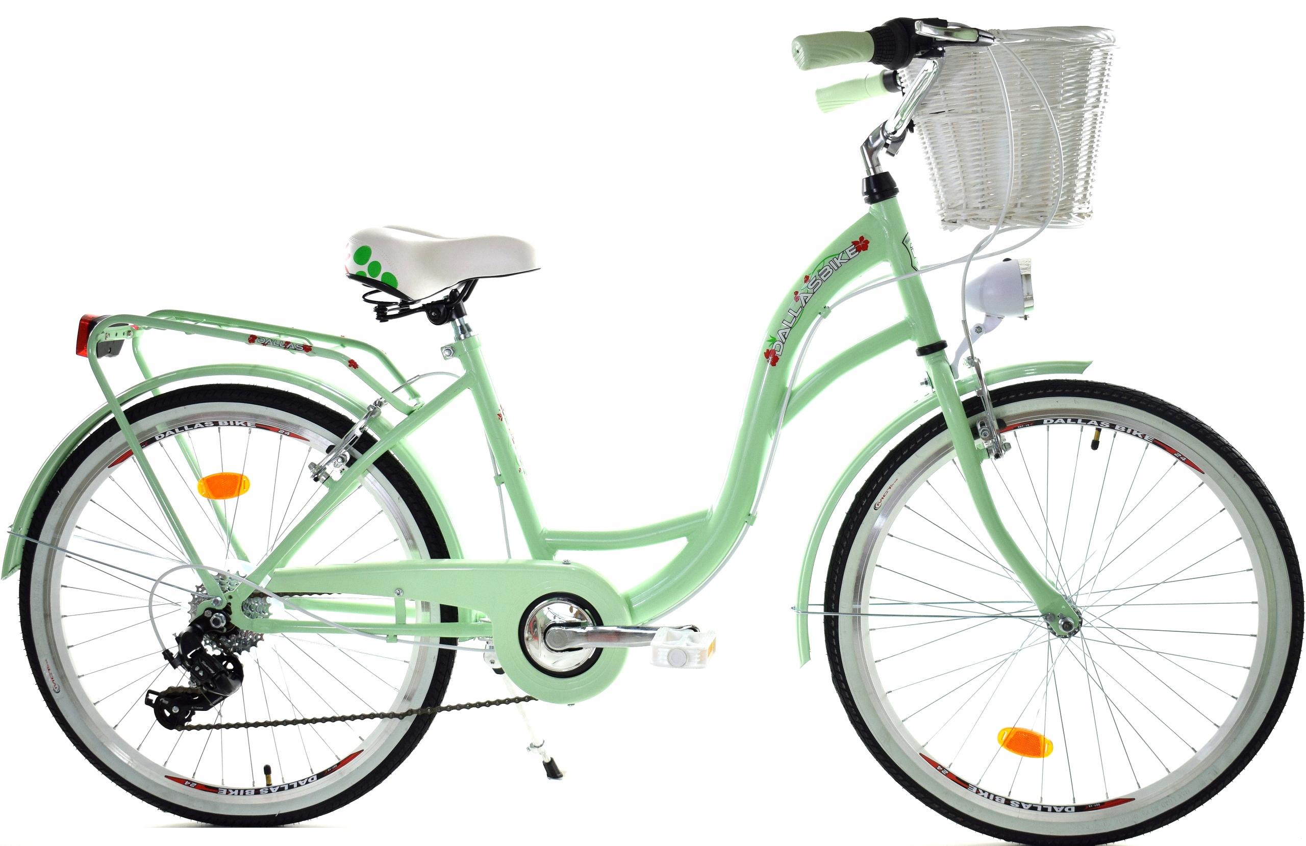 Bicykel pre dievča 26 rýchlostí Dallas na prijímanie Farba biela