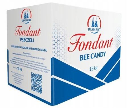 CIASTO pokarm dla pszczół FONDANT 15 kg