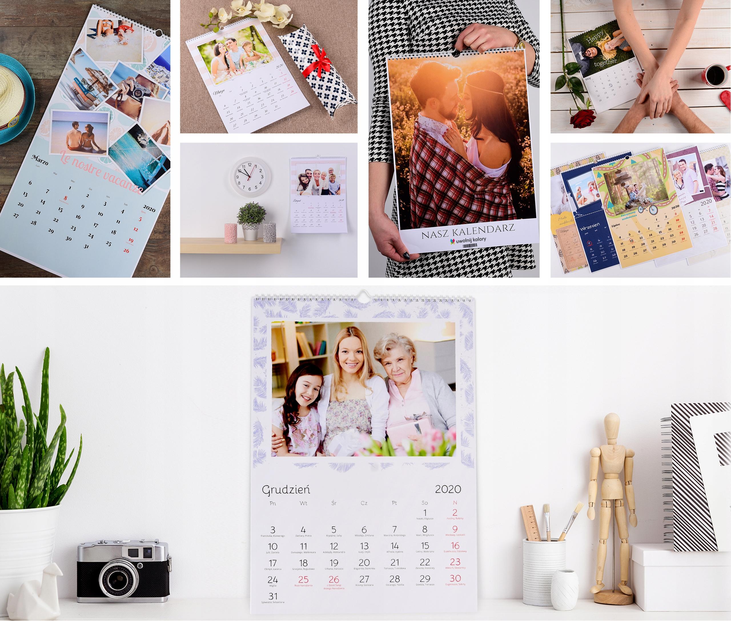 2x Фото-календарь А3+ ВАШИ ФОТОГРАФИИ, календари