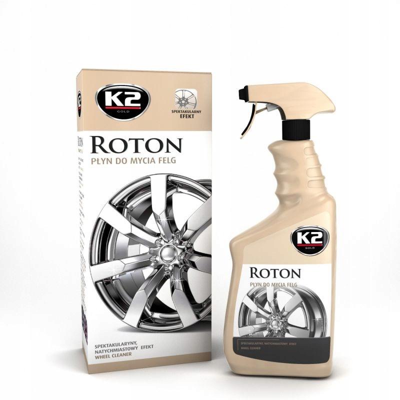K2 ROTON 700ML Wysoce efektywny płyn do mycia felg