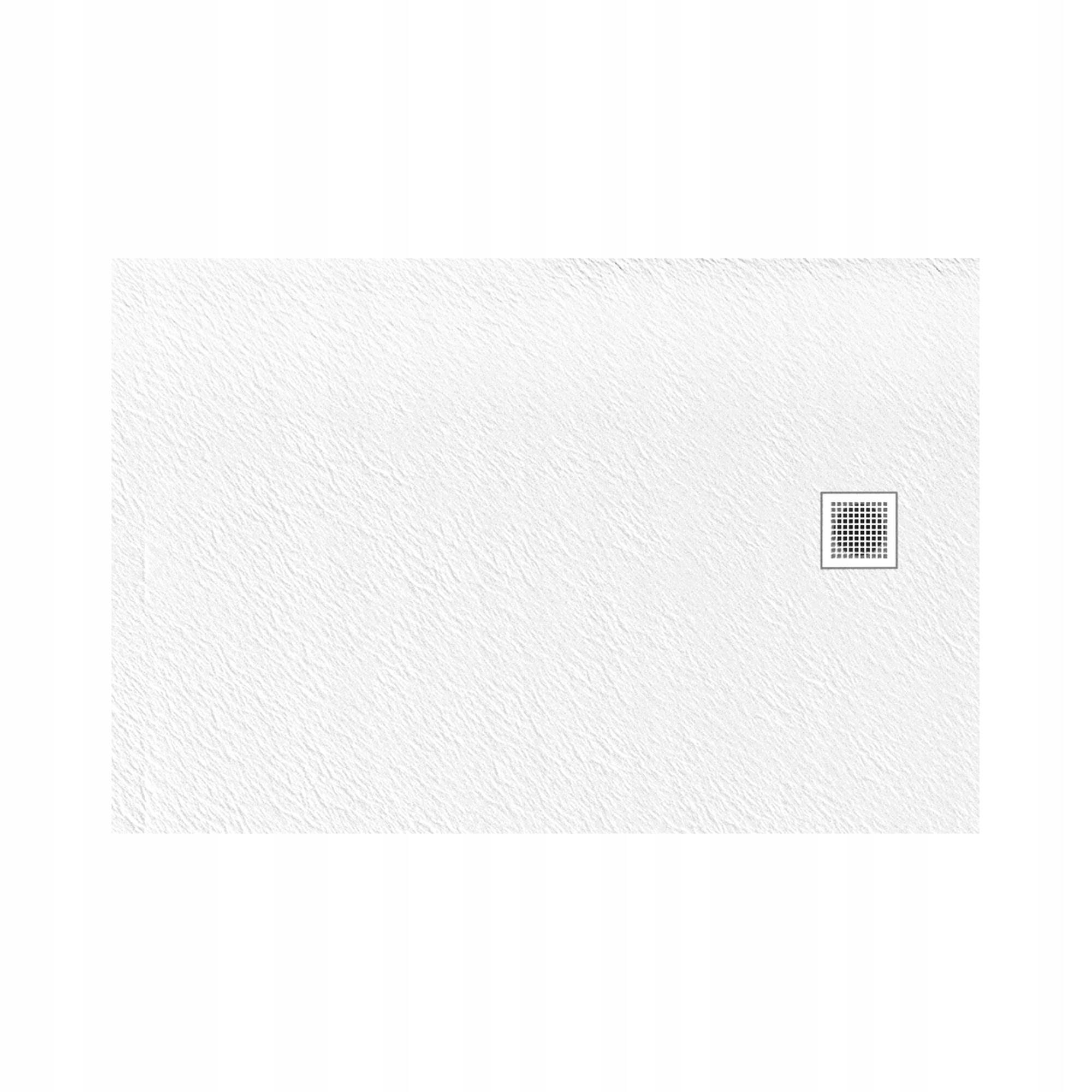 NT Sprchová vanička MORI 100X80 biela B-0432 Konglomerát