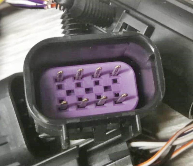 Wtyczka kostka złącze DELPHI GT150 8 PIN MĘSKA