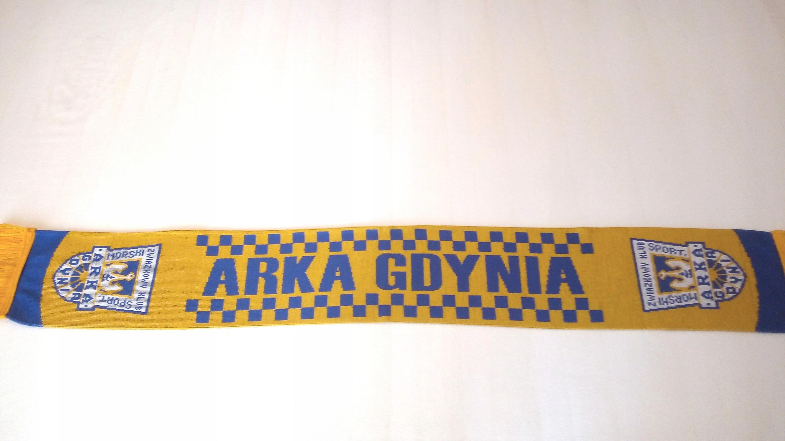 Šatka Arka Gdynia - bilaterálne pletené.