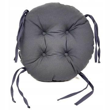 Подушка декоративная, круг 35см, табурет