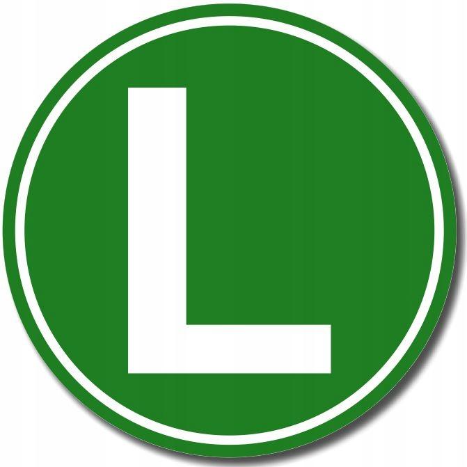 НАКЛЕЙКА буква L с надписью LOW NOISE TIR 12см