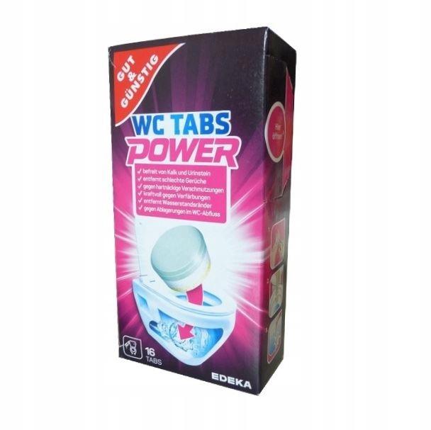 Таблетки чистящие для ТУАЛЕТА Tabs Power GG 16 шт.