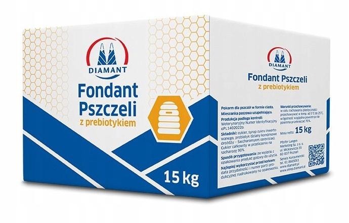 FONDANT С ПРЕБИОТИЧЕСКОЙ 15 KG пчелиная пища