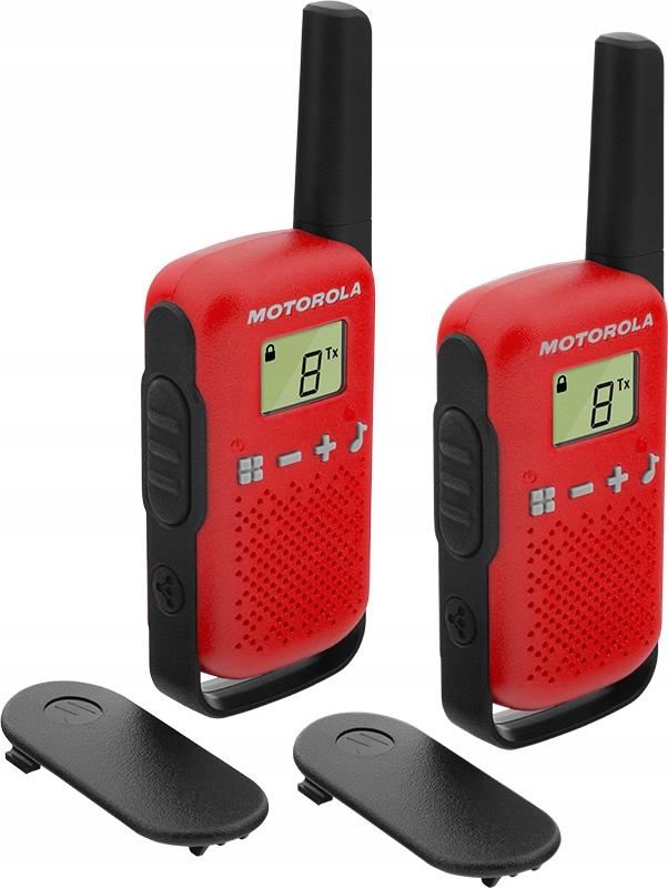 Item RADIO WALKIE TALKIE MOTOROLA T42 up to 4 km!