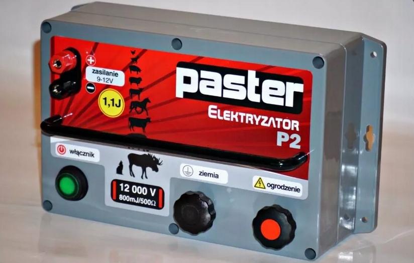 Elektryzator pastier, elektrické PASTEUR P2