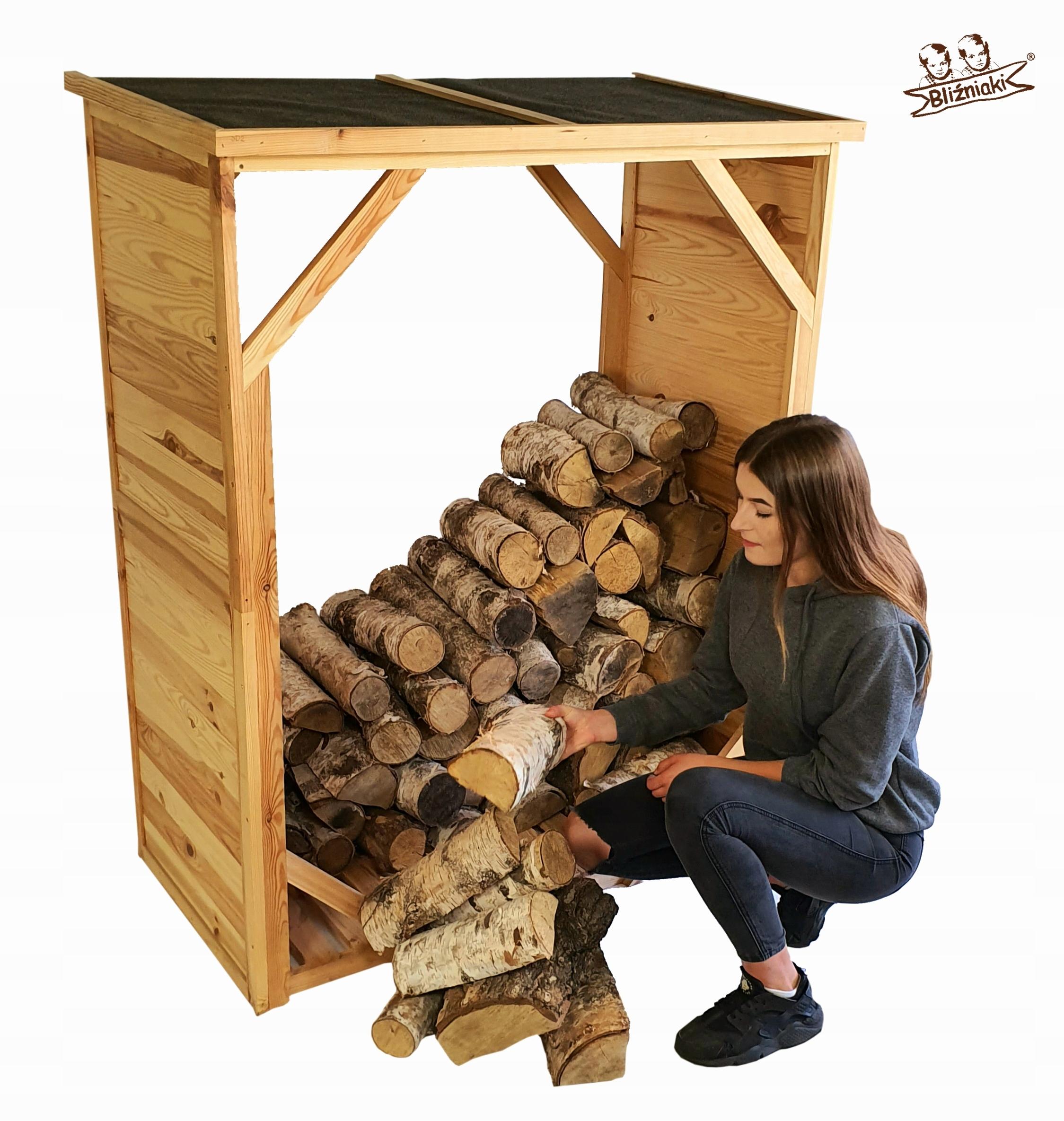 Drewutnia Zloženie pre palivové drevo, Husk Košík