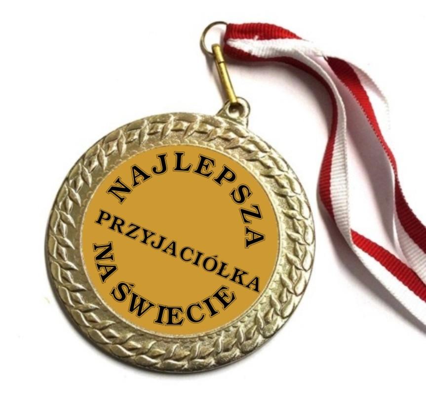 Medal Przyjaciolka Prezent Przyjaciolki Urodziny 7383908740 Allegro Pl