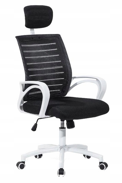 Krzesło obrotowe z regulowanym zagłówkiem SOCKET