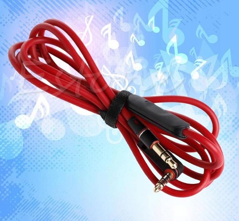 Kabel Słuchawkowy do BEATS STUDIO SOLO DETOX+PILOT Waga produktu z opakowaniem jednostkowym 0.02 kg