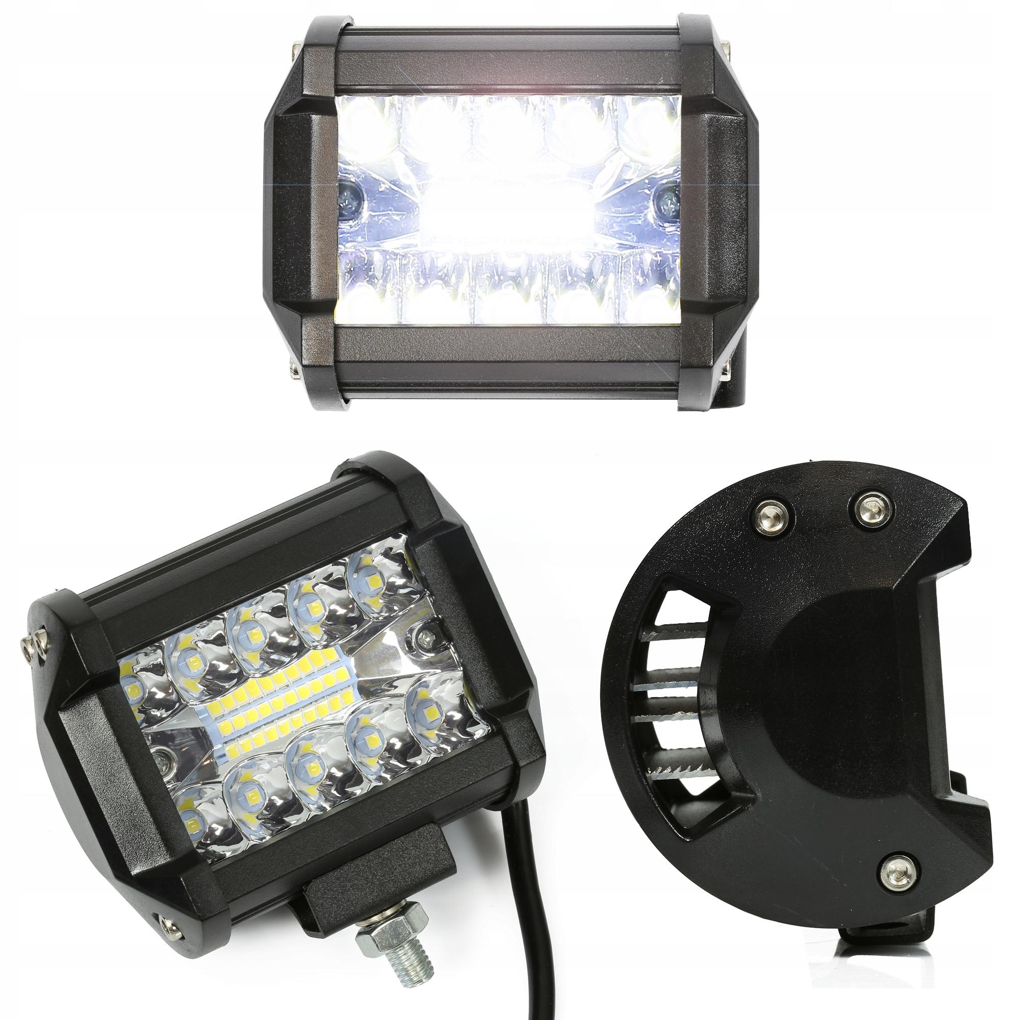 led 60w галоген прожектора лампа рабочая 12v 24v