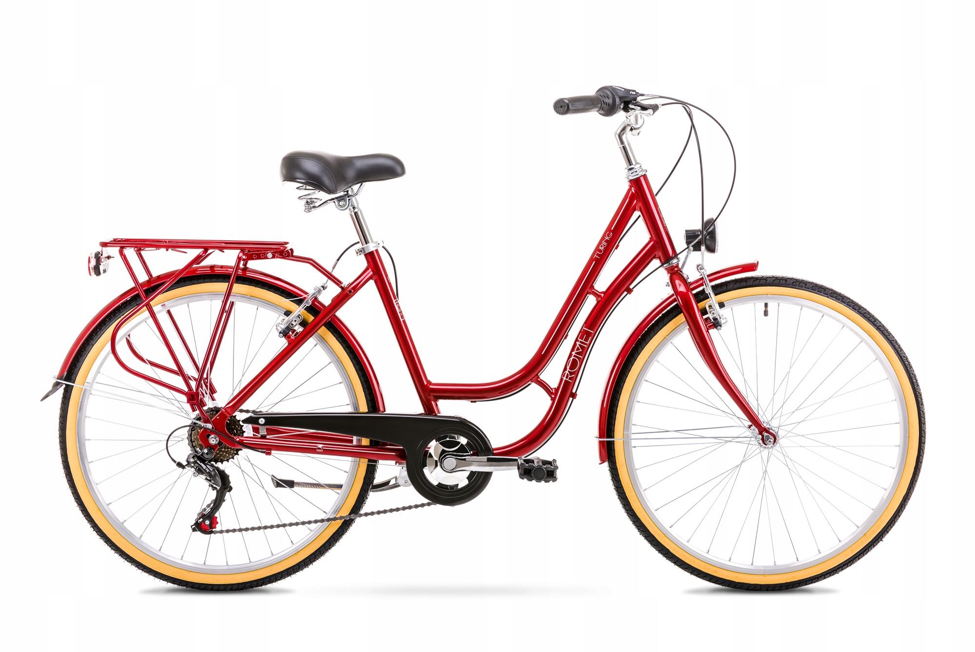 Bicykel ROMET TURING 6S PREDAJ 2019 červená