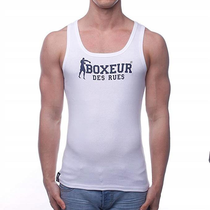Boxing T-Shirt Tank Top Boxeur des Rues ROZ M