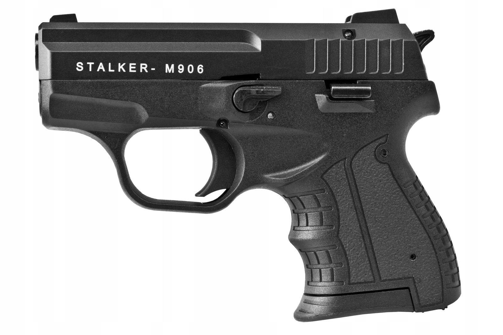 Рупорный пистолет STALKER M906 чёрный кал.6мм