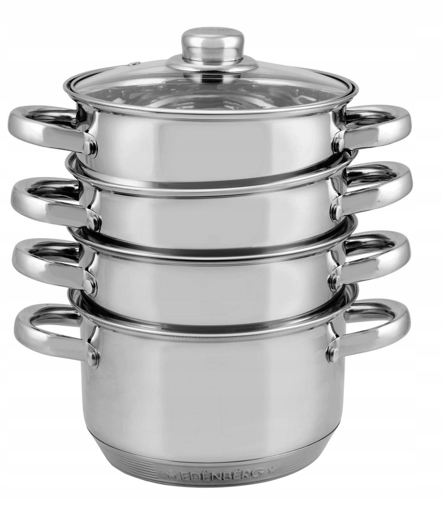 Pot 2,5 litra varenia parou 18cm. 9 x DNO 8903