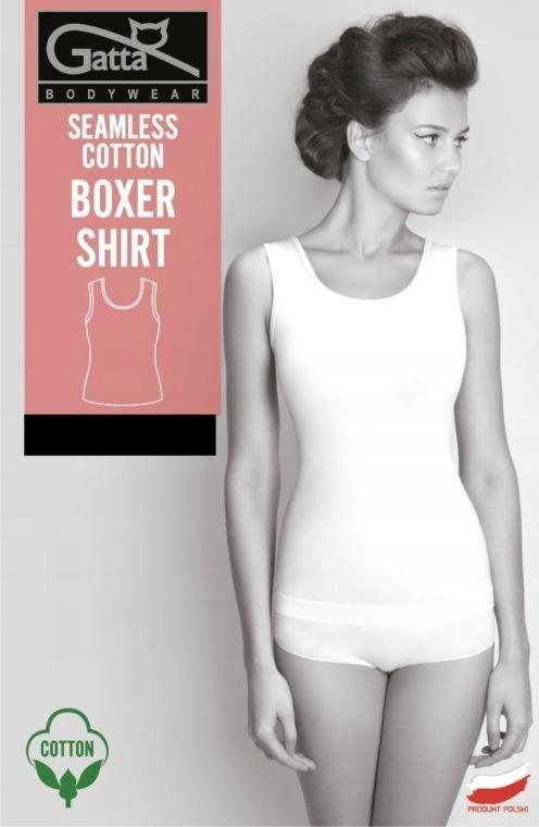Koszulka damska bokserka Boxer Shirt Gatta biała S