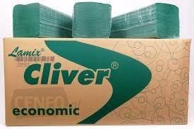 Ręczniki składane ZZ, zielone, Lamix, Cliver 4000