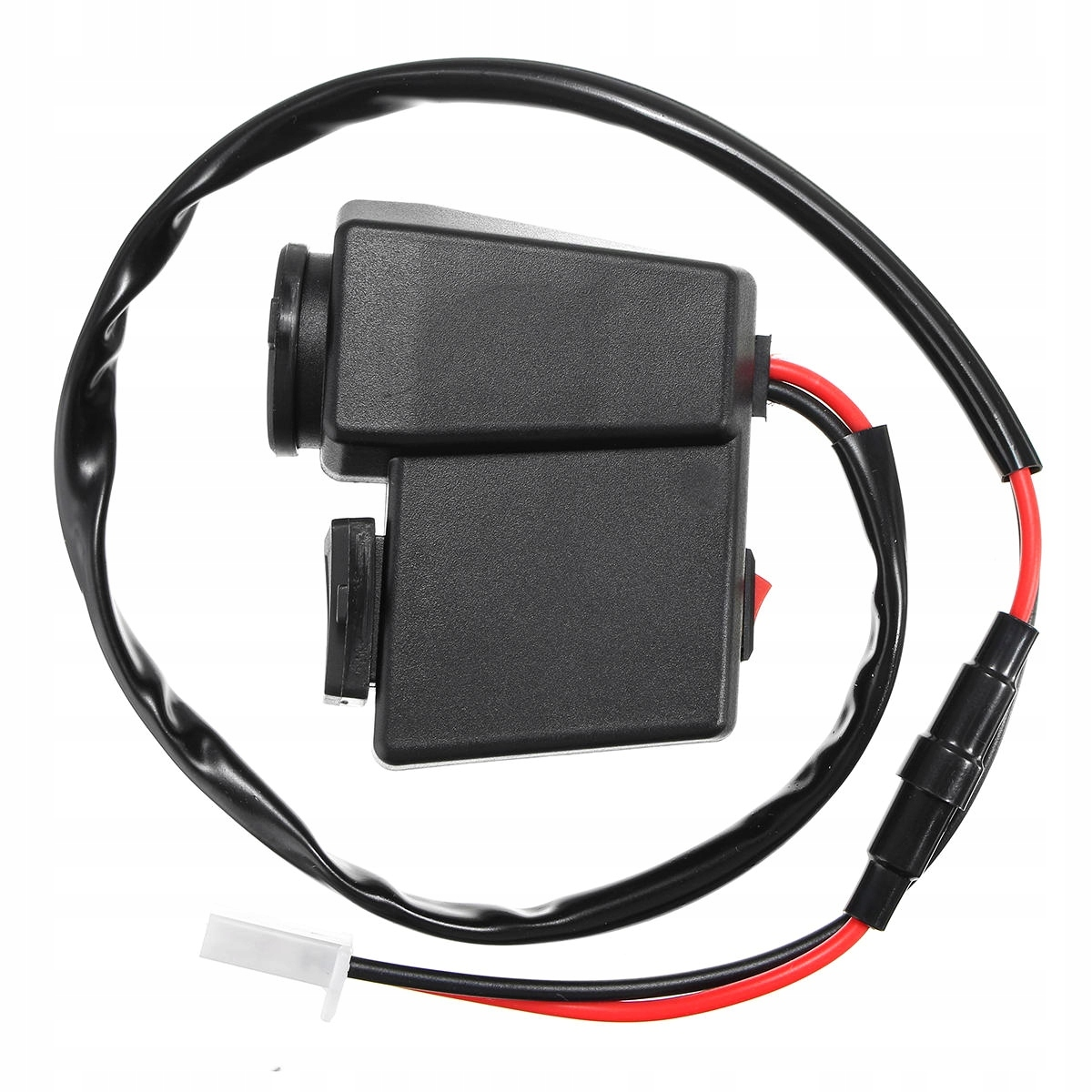 Picture of CAR LIGHTER SOCKET 2X USB 2.1A VOLTMETER ENGINE (MOTOR)