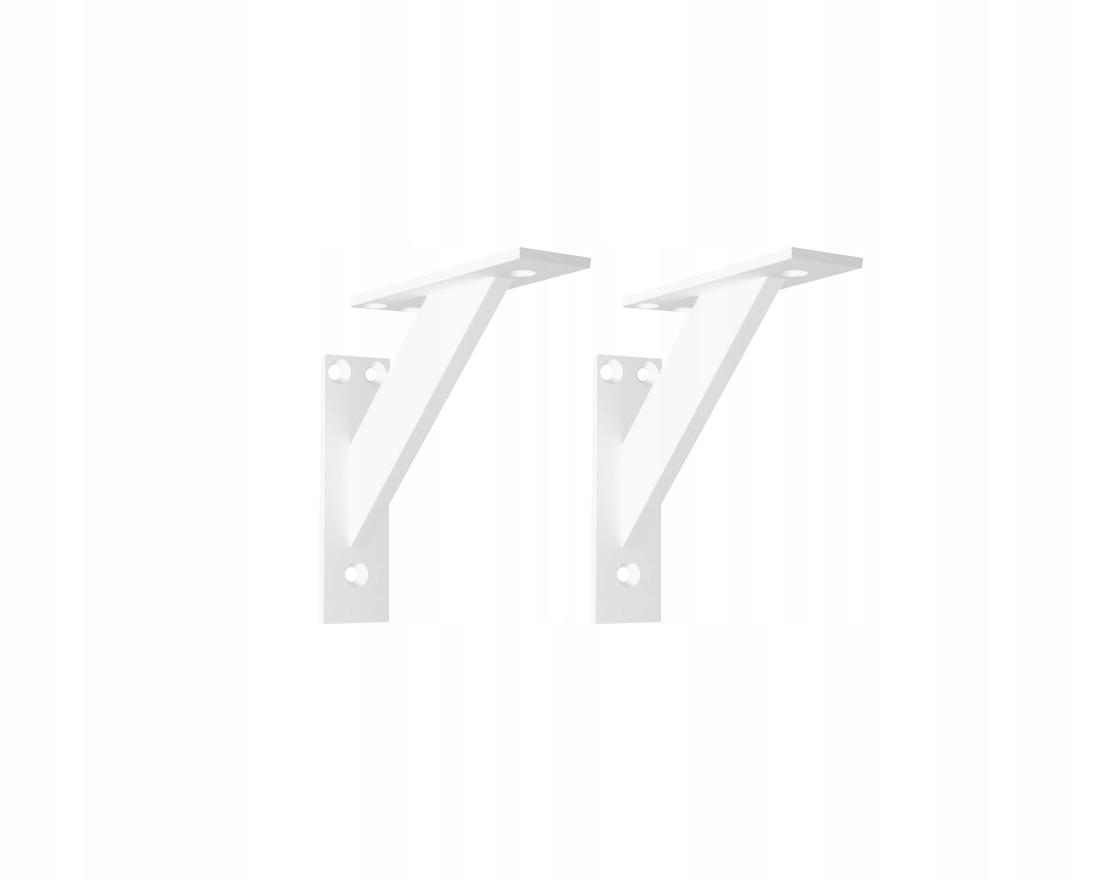 2 ks PÁSOVÝ PODPORNÝ NÁRAMOK 120 mm BIELA