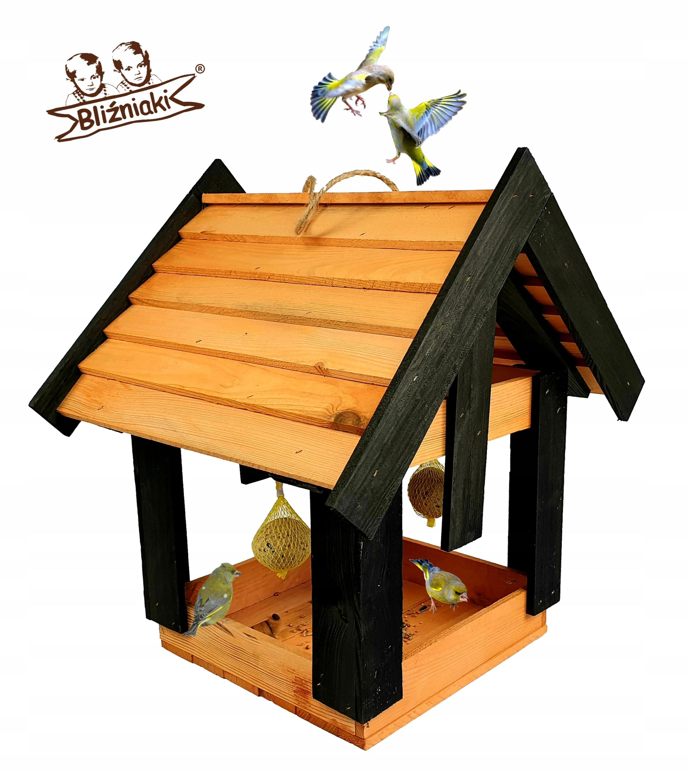 Veľký drevený, Vtáčie kŕmidlá, Dom chovateľskej stanice XXL