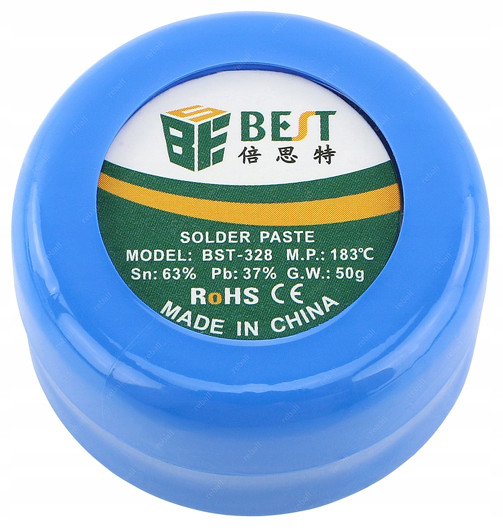 SOLDER PASTE SMD BGA Sn63Pb37 LIQUID TIN 30g