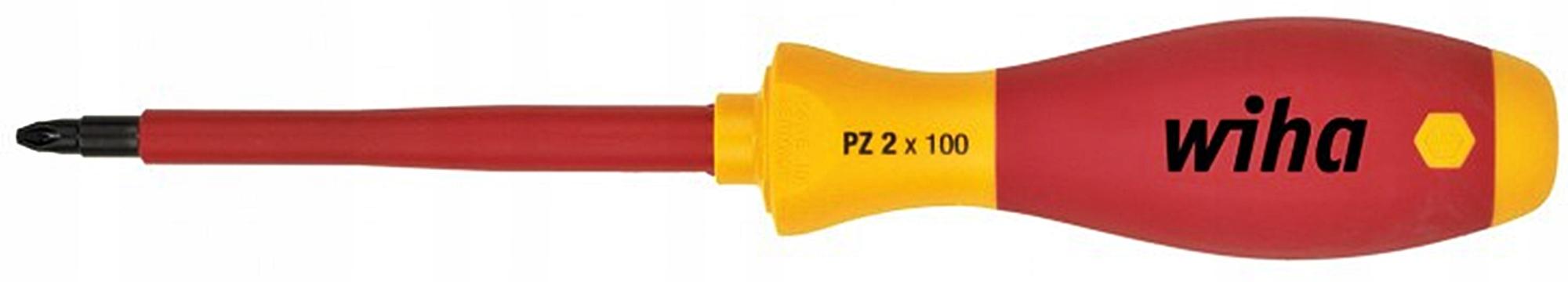 Skrutkovač krížový PZ2 x 100mm 1000V 00879 WIHA