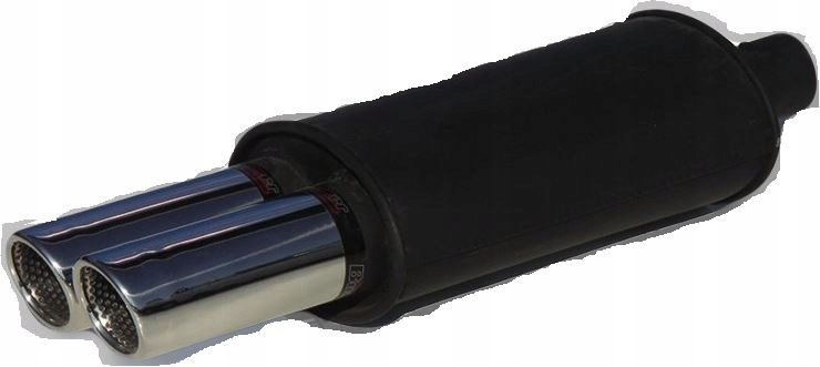 глушитель спортивный buzzer 2 x 70 мм дизель бензин 55