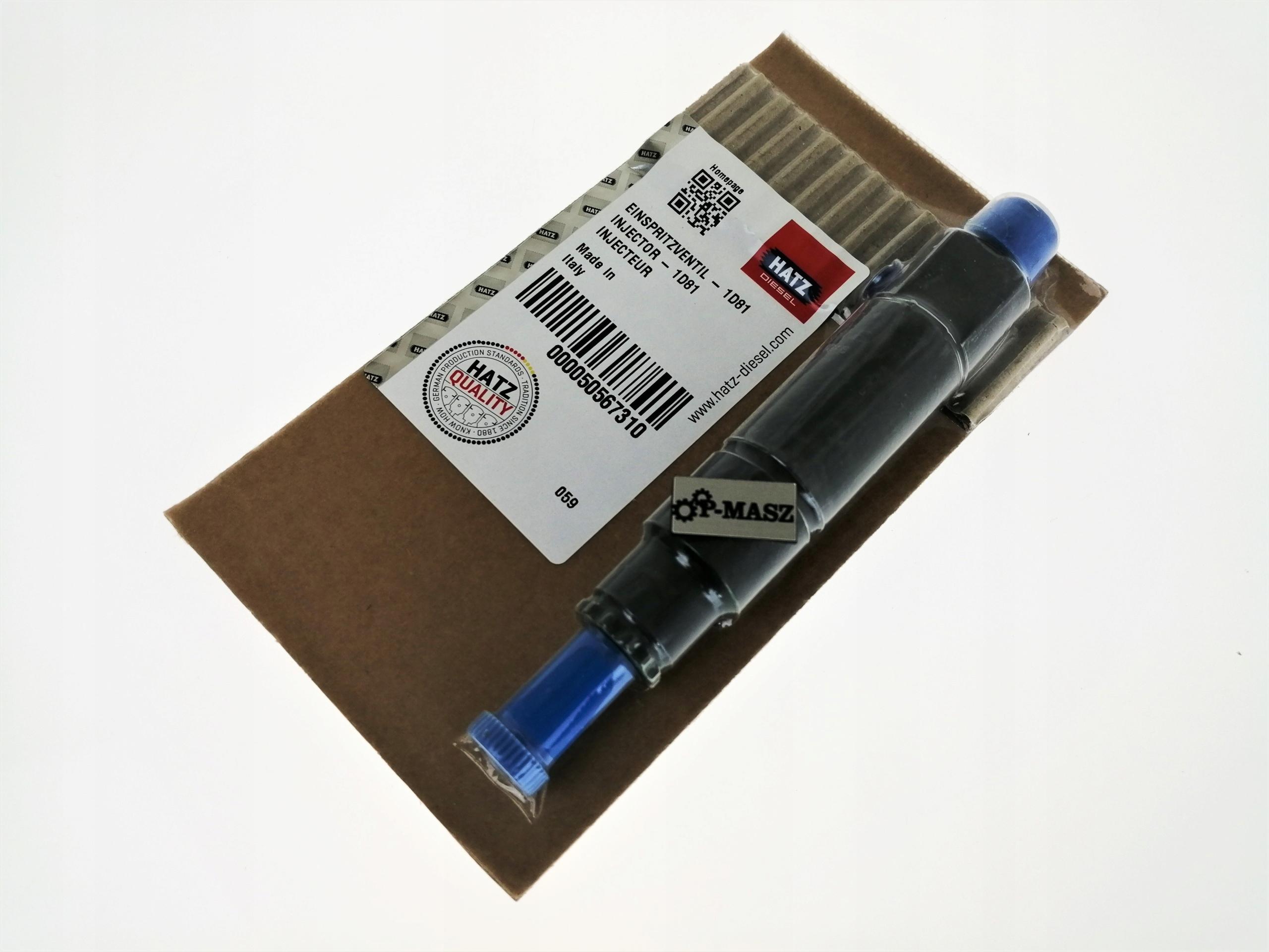 Hatz 1D81 EPA IV Полный инжектор 50567310