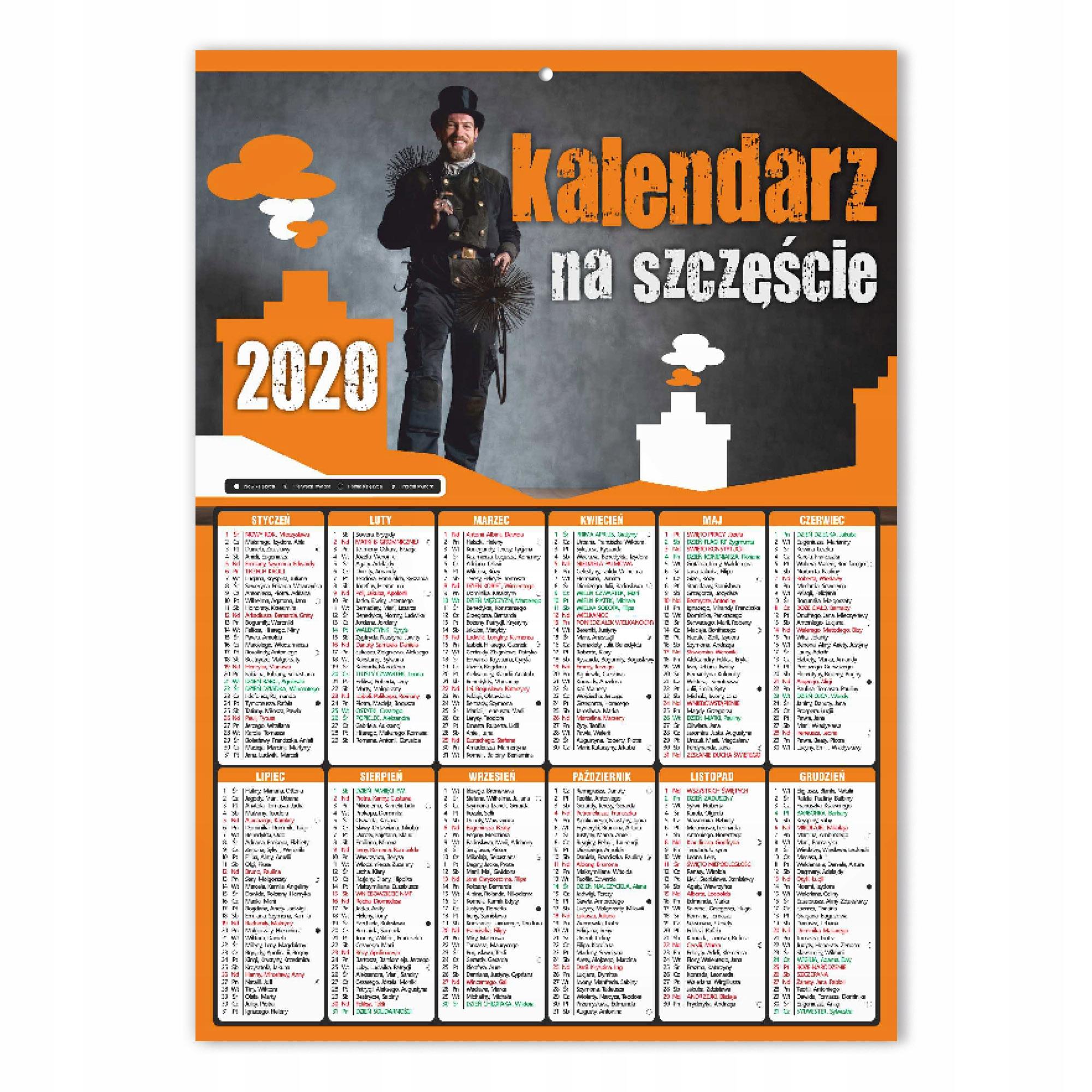 Kalendarz Kominiarski Scienny A3 500szt 18 Wzorow 499 99 Zl Allegro Pl Raty 0 Darmowa Dostawa Ze Smart Rzeszow Stan Nowy Id Oferty 8609259177