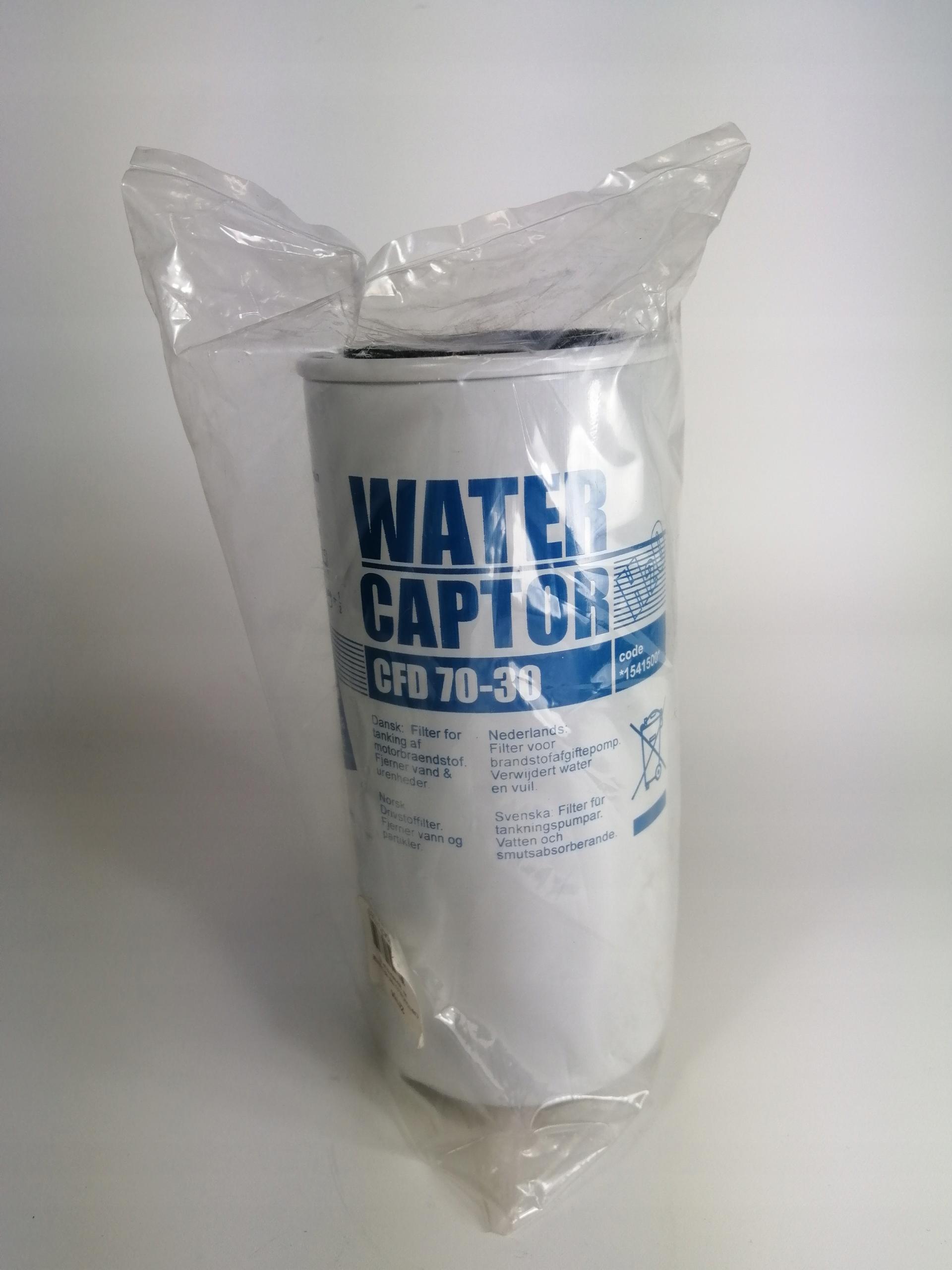 Filtr Piusi - 70L/min z separatorem wody 6