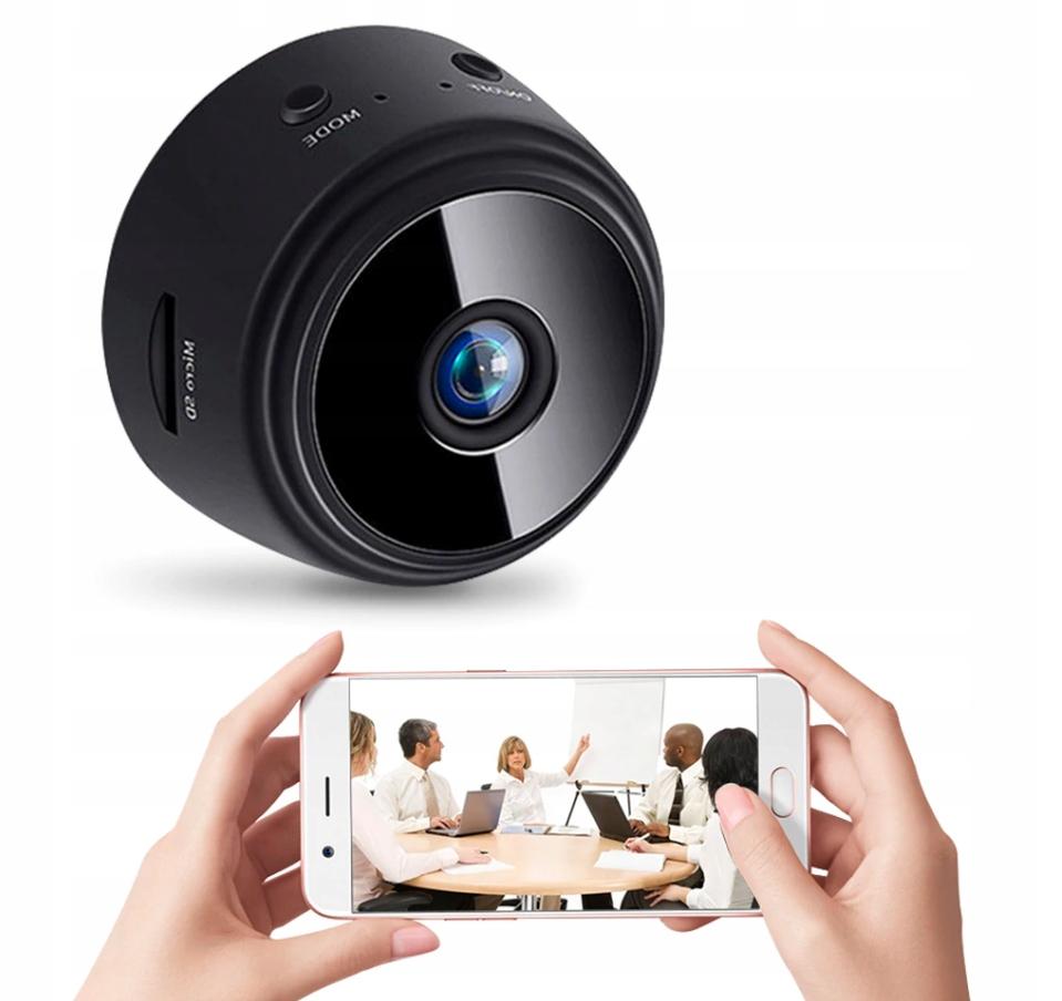Mini Kamera Wifi full HD ukryta DVR IP