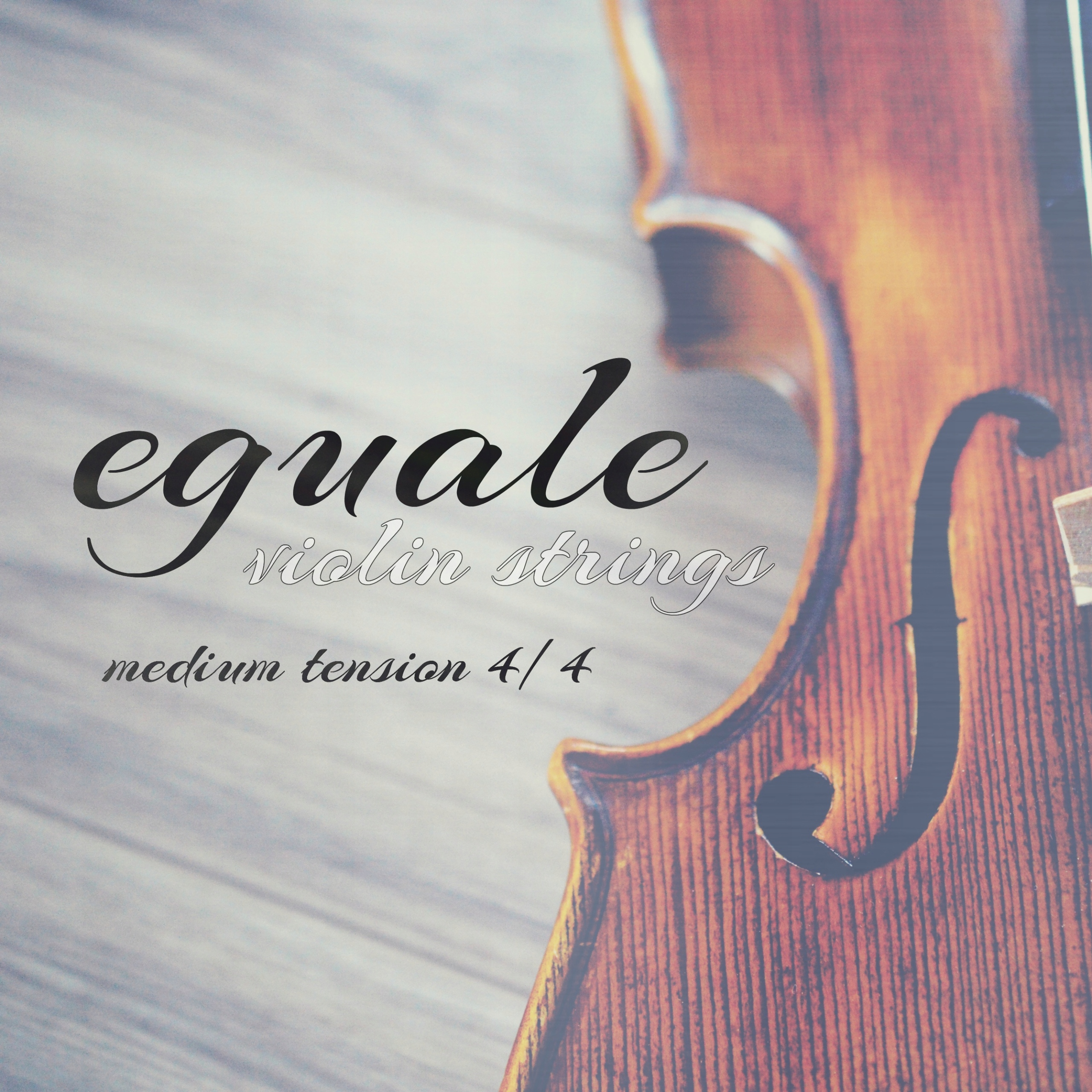 Item Violin strings for 4/4 EGUALE FRESH! NOBLE!