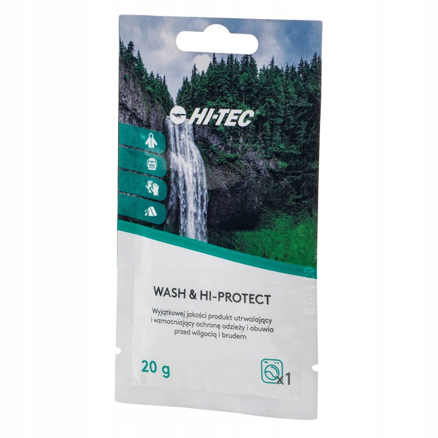 ЖИДКОСТЬ ДЛЯ СТИРКИ WASH & HI-PROTECT 20 Г HI-TEC