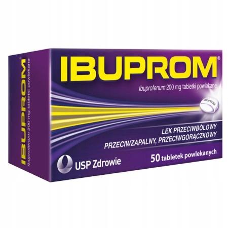 Купить Ibuprom 200 мг боль суставы грипп 50 табл powl на Otpravka - цены и фото - доставка из Польши и стран Европы в Украину.
