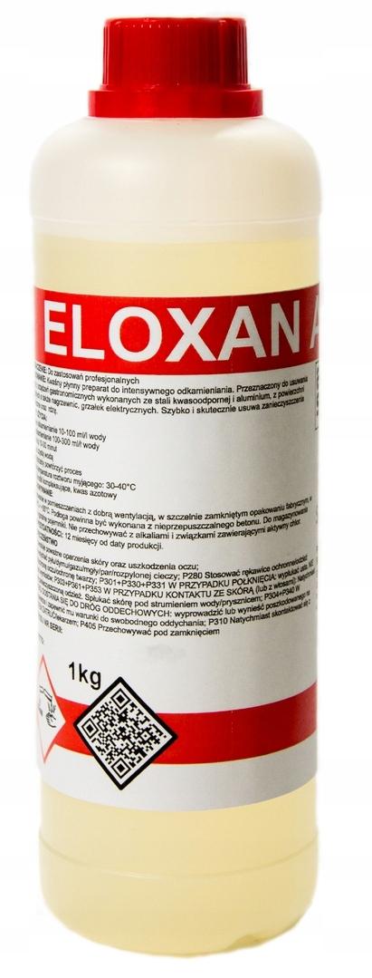 ELOXAN AL для удаления накипи БЫТОВОЙ техники, нагревателей, 1кг