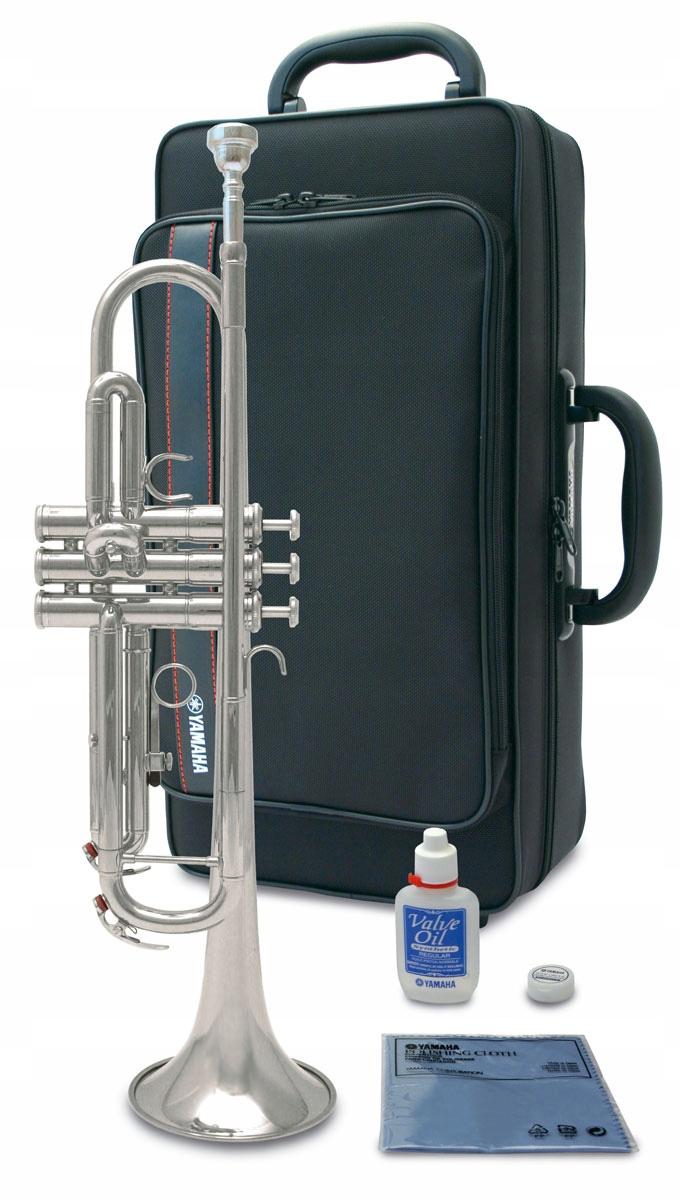 Item Trumpet Yamaha YTR 3335S silver SET ACCESSORIES
