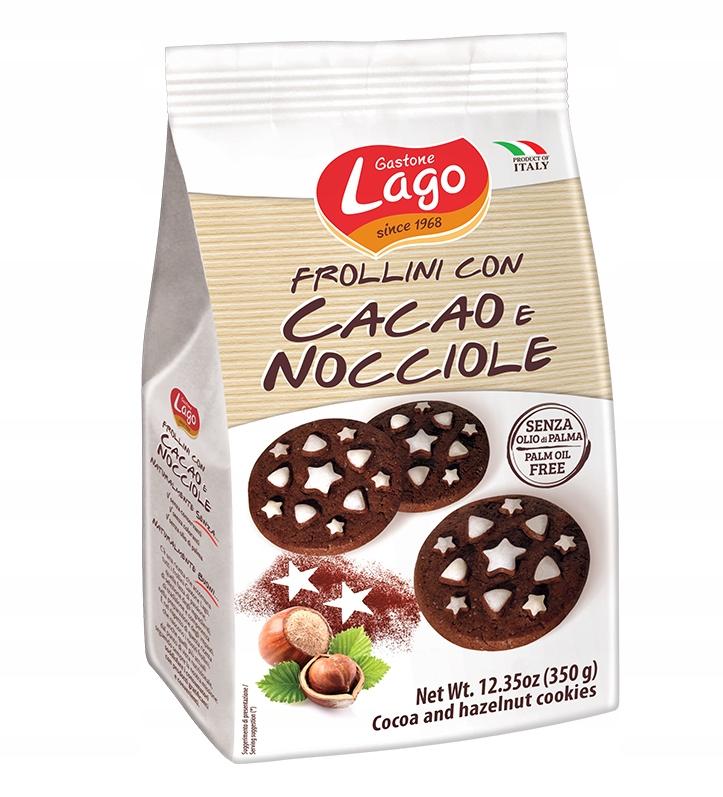 LAGO FROLLINI ИТАЛЬЯНСКОЕ ПЕЧЕНЬЕ kakaowo арахиса