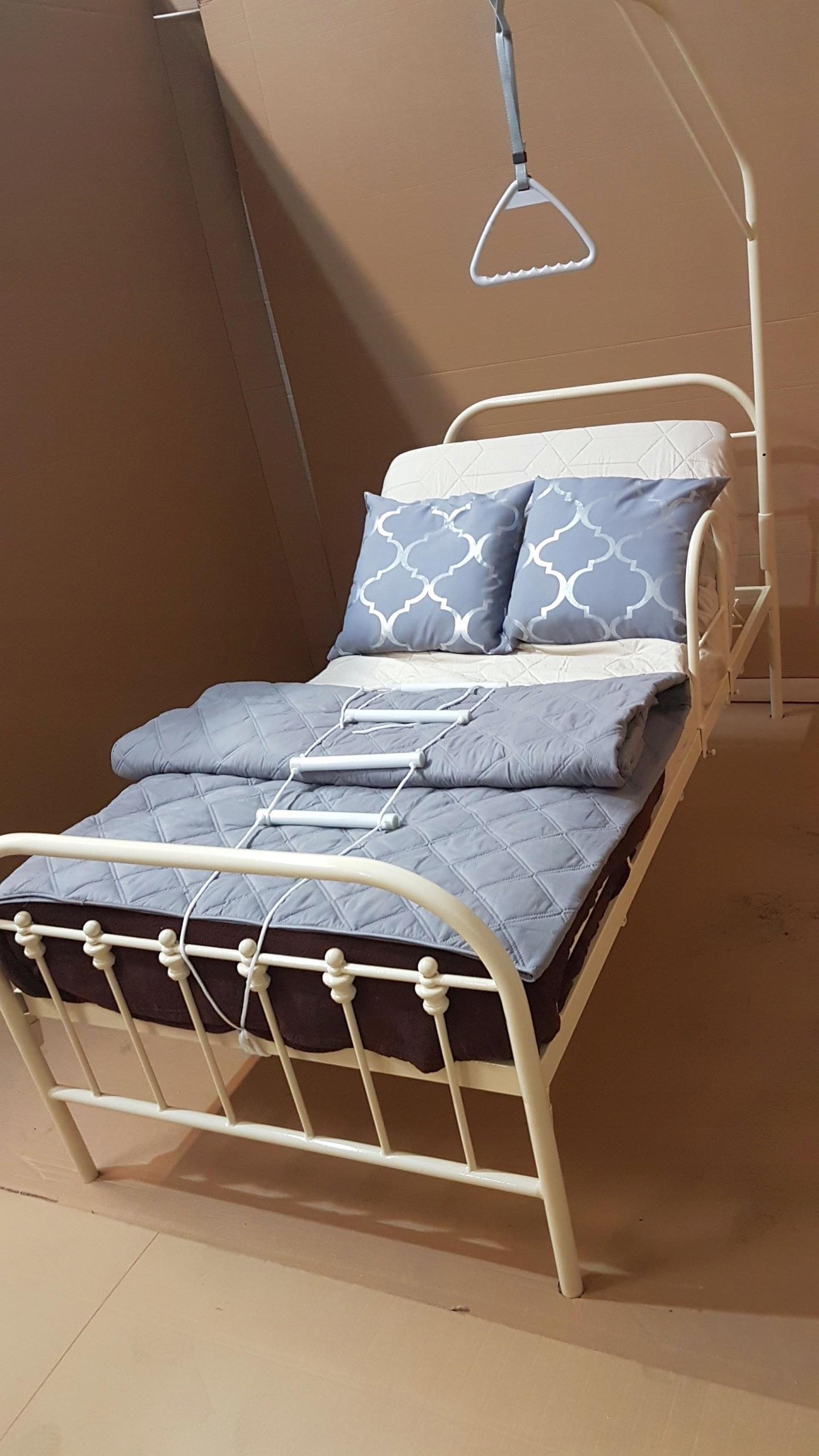 łóżko Dla Seniora 90x200 Wysięgnik Poręcz