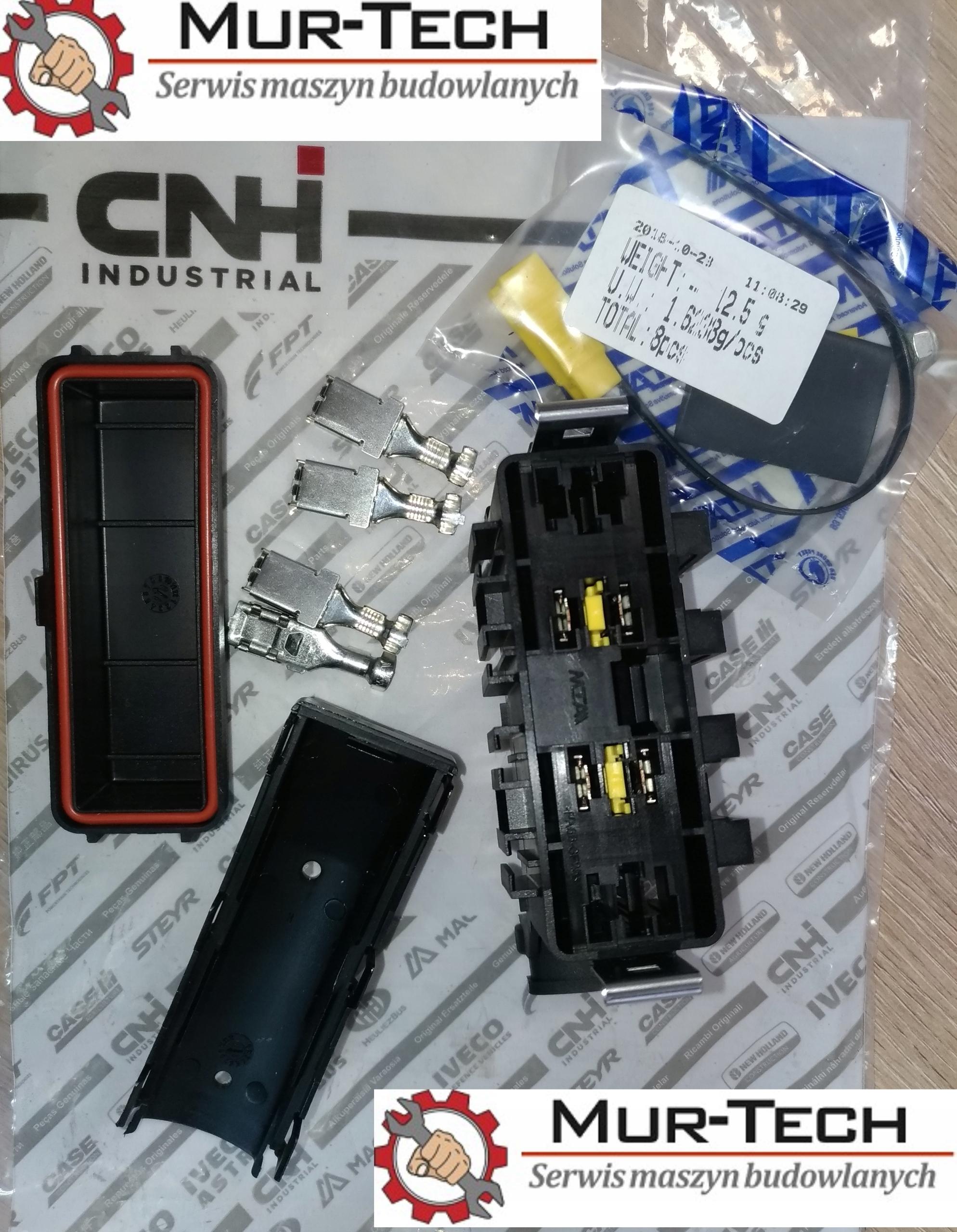 gniazdo bezpieczników Case 580SR, 695SR, NH B110