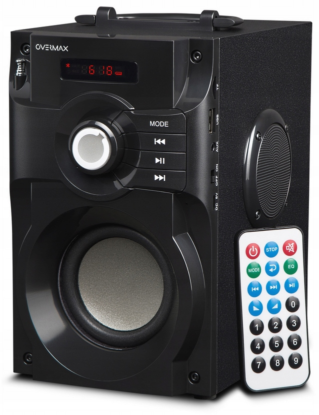 Boombox Bezprzewodowy Miniwieża Odtwarzacz MP3 Fm